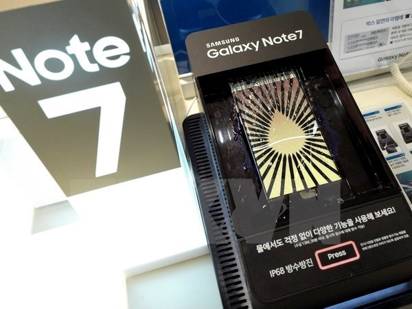 Vietnam Airlines bans Galaxy Note7 hinh anh 1