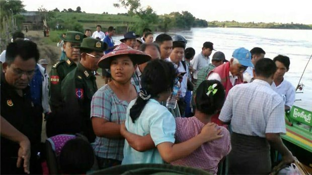Myanmar: 32 killed in ferry accident hinh anh 1