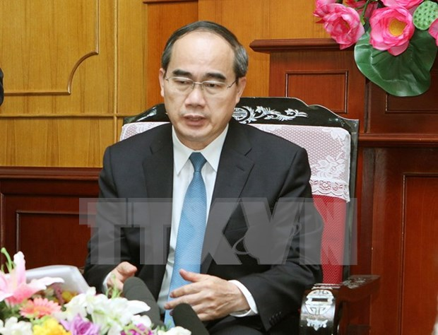 VFF leader meets outgoing UN Resident Coordinator hinh anh 1
