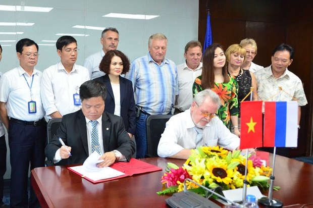 Vietnamese, Russian electricity trade unions forge cooperation hinh anh 1
