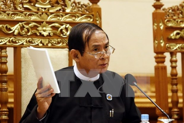 Myanmar to hold parliament by-election in April 2017 hinh anh 1
