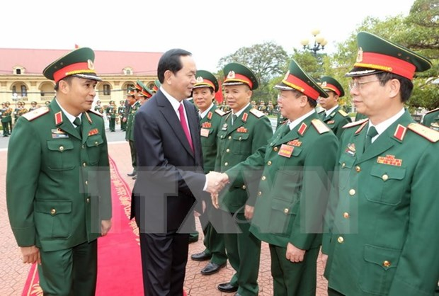 President sets tasks for Military Zone 2 armed forces hinh anh 1