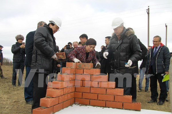 Work starts on TH True Milk complex in Russia hinh anh 1