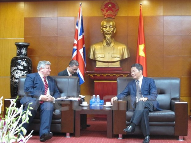 UK to continue support for Vietnam-EU free trade agreement hinh anh 1