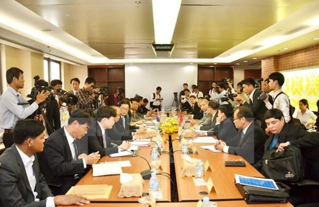 Vietnam, Cambodia hasten land border demarcation hinh anh 1