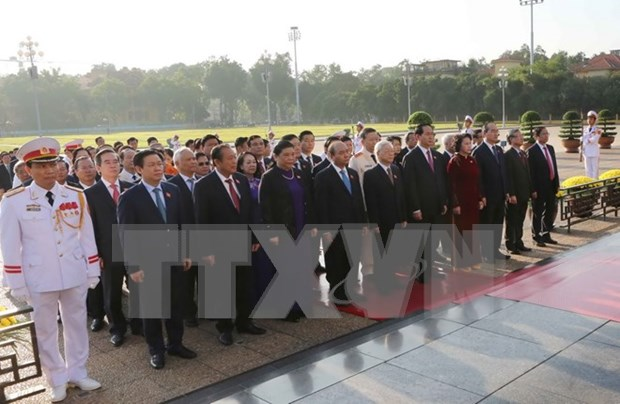 Second session of 14th National Assembly opens hinh anh 1
