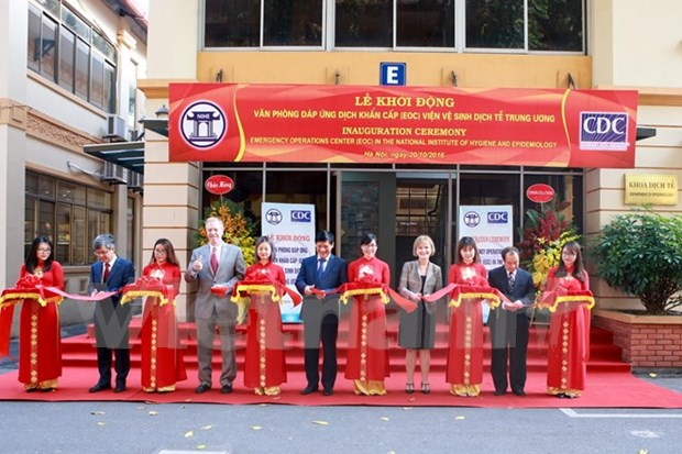 Emergency Operations Centre launched in Hanoi hinh anh 1