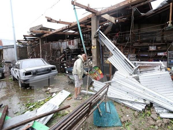 Typhoon Haima kills 12 Philippine people hinh anh 1