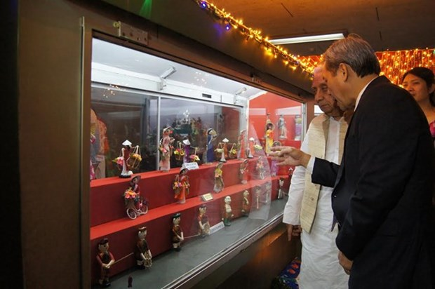 Vietnamese dolls get own space in Indian International Dolls Museum hinh anh 1