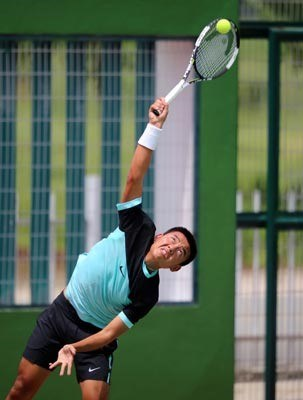 Tennis: Vietnamese players all out of Men's Futures hinh anh 1