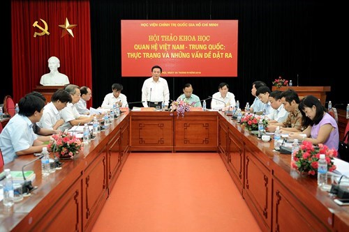 Conference highlights Vietnam-China relations hinh anh 1