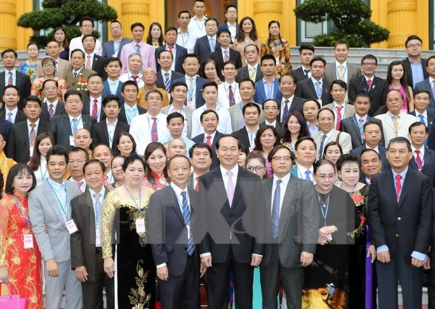 President urges SMEs to engage in global value chain hinh anh 1