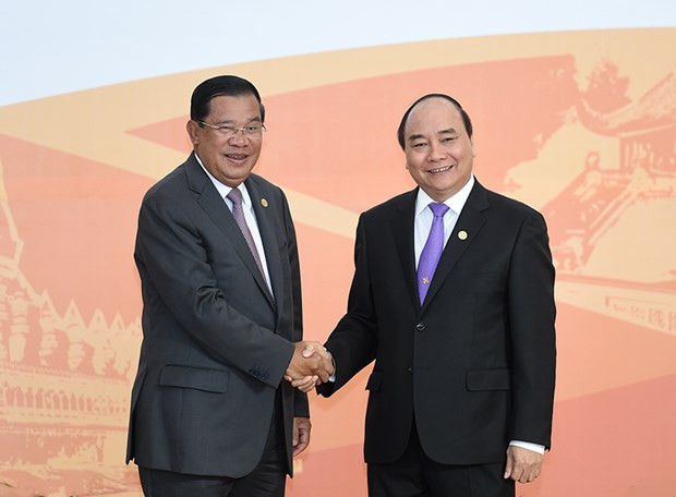 Vietnam, Cambodia promote cooperative ties hinh anh 1