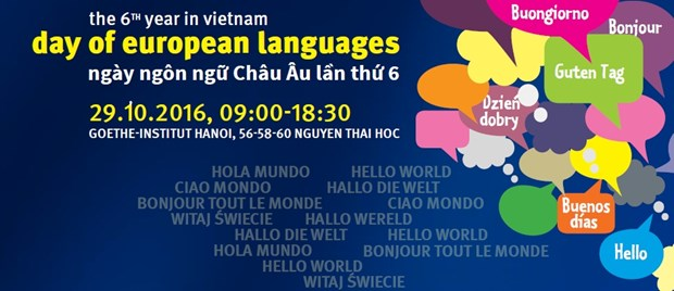 Sixth European Day of Languages to kick off in Hanoi hinh anh 1