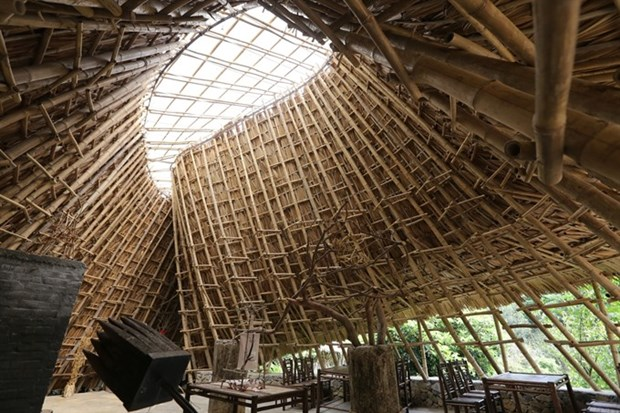 Bamboo building wins American prizes hinh anh 2