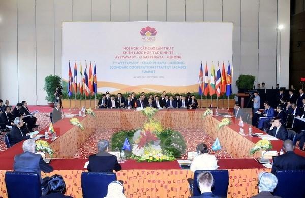Hanoi Declaration of 7th ACMECS Summit issued hinh anh 1