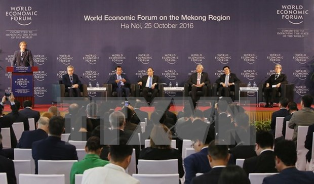 Leaders share measures for Mekong region development hinh anh 1