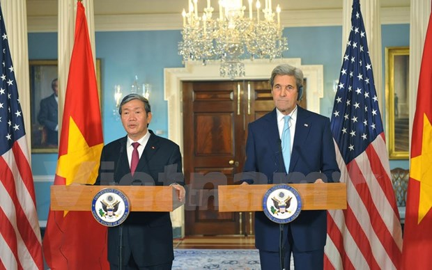 Relations with CPV critical to boosting US-Vietnam ties: John Kerry hinh anh 1