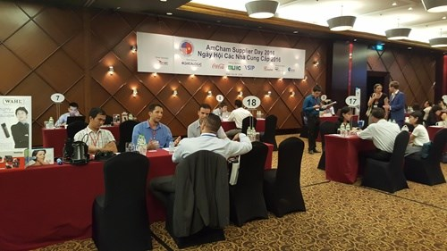 Amcham organises supplier day in HCM City hinh anh 1