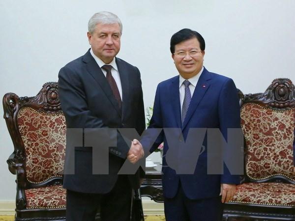 Vietnam, Belarus intensify trade, investment hinh anh 1