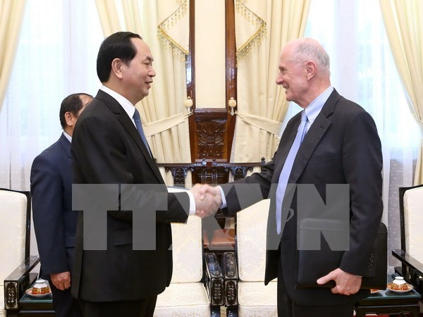 US Professor to help Vietnam develop science, technology hinh anh 1