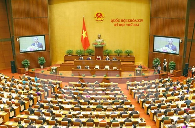 Several draft laws discussed at 14th NA's second session hinh anh 1