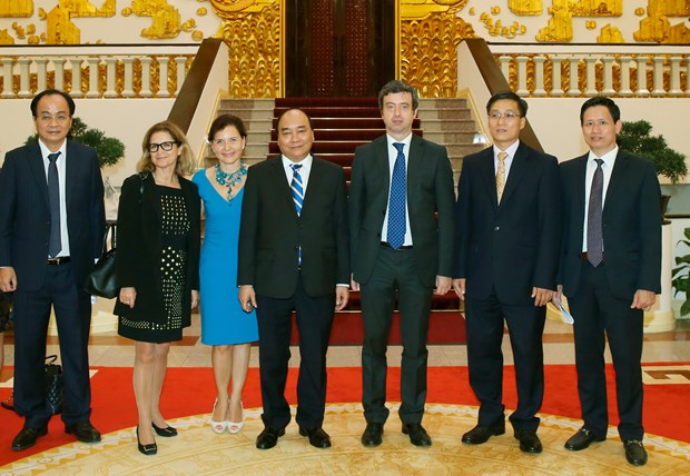 Vietnam, Italy ministries set up law, justice cooperation ties hinh anh 1