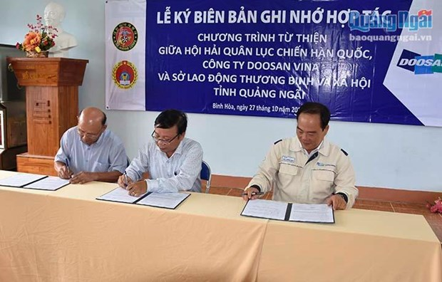 RoK supports schools improvement in Quang Ngai hinh anh 1