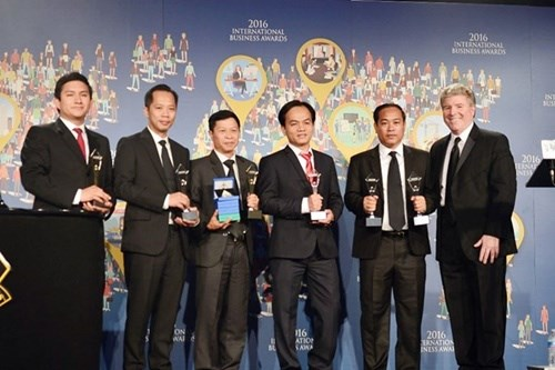 Viettel subsidiaries win four international trophies hinh anh 1