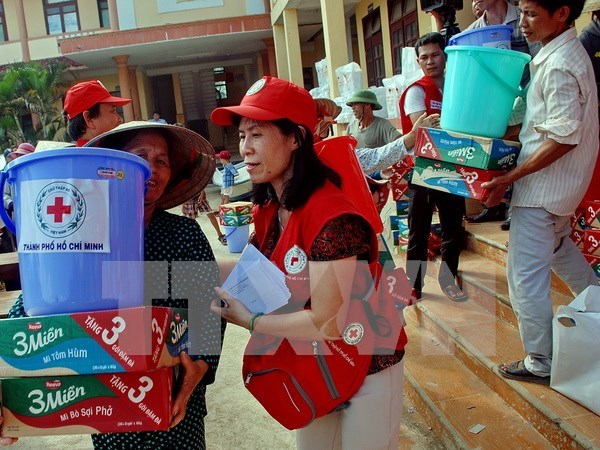 Embassy in Japan holds fundraiser for flood victims at home hinh anh 1