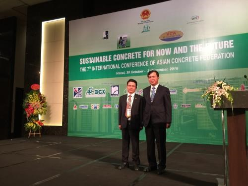 Int'l conference promotes sustainable concrete development hinh anh 1