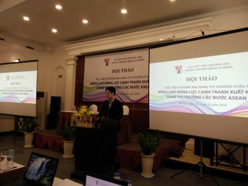 Workshop enhances export to ASEAN nations hinh anh 1