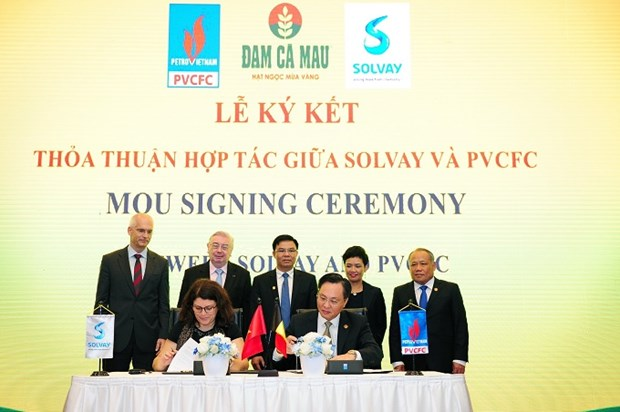 Vietnamese, Belgian firms cooperate in producing high-quality urea hinh anh 1