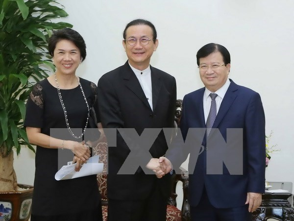 Thai firm values long-term support from Vietnamese Government hinh anh 1