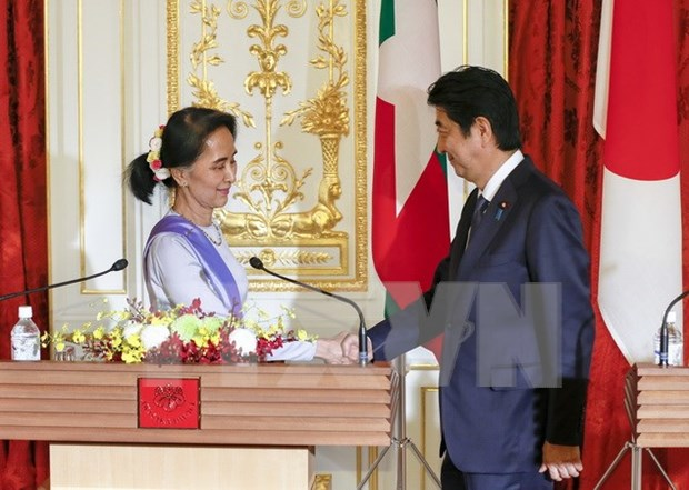 Japan pledges 7.7 billion USD for Myanmar hinh anh 1