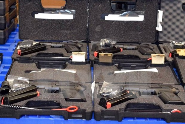 HCM City confiscates illegally-imported guns hinh anh 1
