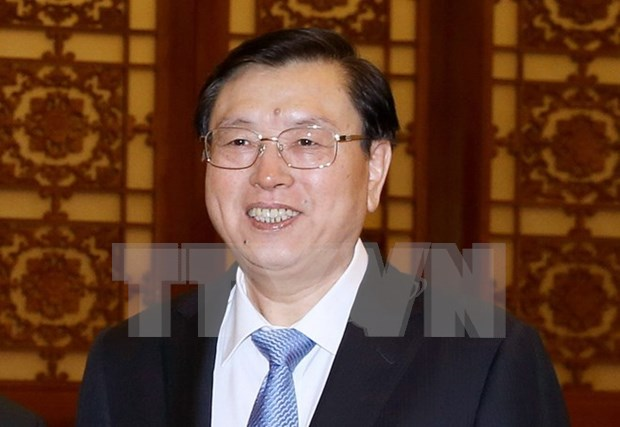 Chairman of Chinese National People's Congress to visit Vietnam hinh anh 1