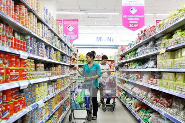 Domestic goods market enjoys stable growth hinh anh 1