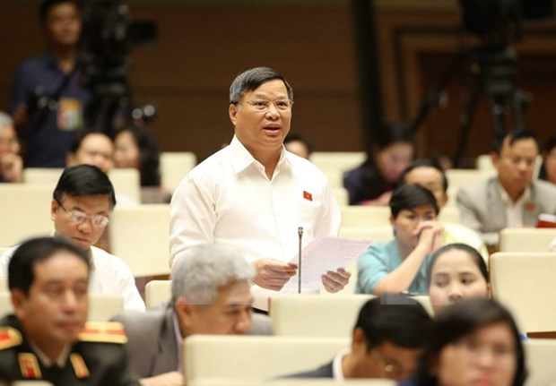 Economic growth discussed in NA hinh anh 1