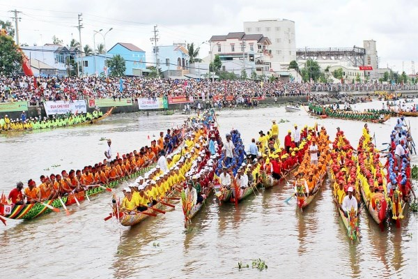 Ok Om Bok 2016 festival promises exciting boat race hinh anh 1