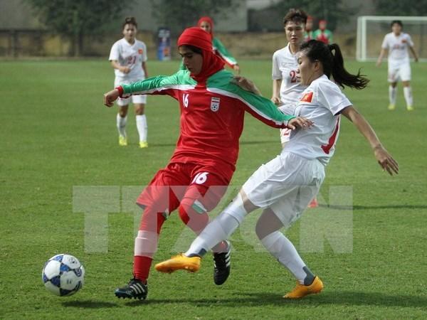 Vietnam women win ticket to Asian 2015 finals hinh anh 1