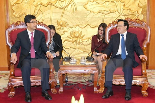 Chinese youths always stand by side with Vietnamese fellows hinh anh 1