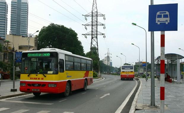 Hanoi prepares for Rapid Bus Transit test run hinh anh 1