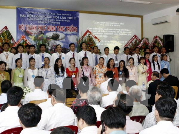 Vietnam Grace Evangelical Baptist Church convenes third congress hinh anh 1