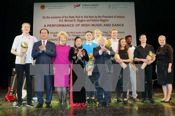 Art programme marks 20th VN-Ireland friendship hinh anh 1