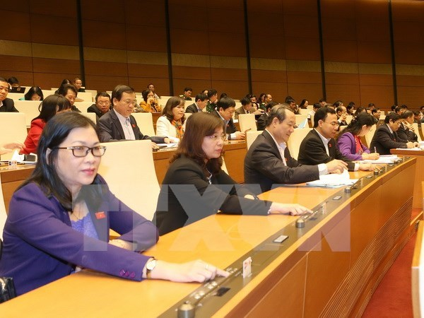 National Assembly adopts five-year financial plan hinh anh 1