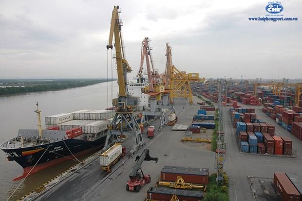 China Coast Guard ship visits Hai Phong city hinh anh 1