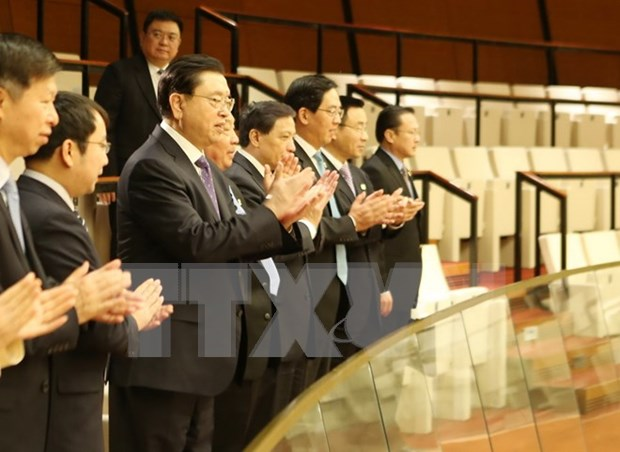 Chinese officials attend NA sitting as observers hinh anh 1