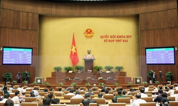 14th National Assembly: First hearing begins on November 15 hinh anh 1