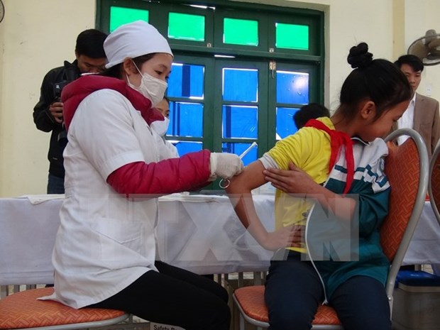 Children to get free measles-rubella vaccination in 2017 hinh anh 1
